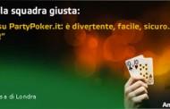 Francesco Totti - nuovo ambasciatore di Partypoker Italia