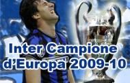Doppietta di Milito ed Inter campione d'Europa 2009-10