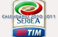 Calendario serie A 2010 – 2011