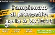 Campionato di pronostici serie A 2010/11 – 2°giornata