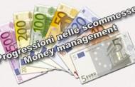 Le progressioni nelle scommesse sportive - money management