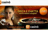 Casinò live - anche GiocoDigitale è in live streaming
