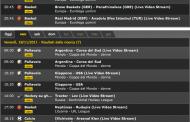 Partite in diretta live streaming dal 17 al 20 novembre 2011