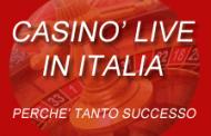Casinò streaming in Italia