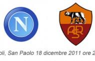 Pronostico Napoli Roma 18 dicembre 2011