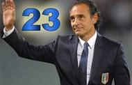 Euro 2012 Prandelli sceglie i 23 convocati