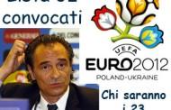 Euro 2012 Prandelli e la lista dei 32 convocati nazionale