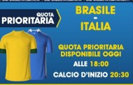 Super quota per Brasile - Italia