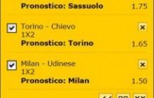 La multipla di Serie A del 7 febbraio 2015