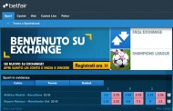 È arrivato il betting exchange in Italia con Betfair.it