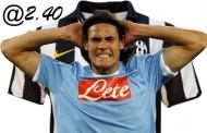 Gioco online Cavani alla Juventus a quota 2.40