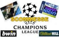 Scommesse Champions League 18-19 settembre 2012