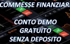 Conto demo gratuito per scommesse finanziarie