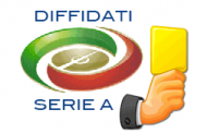 Diffidati serie A 32 giornata 2012