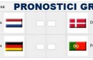 Euro 2012 Gruppo B Olanda-Danimarca e Germania-Portogallo