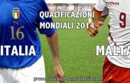 Scommesse Italia - Malta qualificazioni mondiali 2014