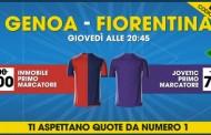 Genoa Fiorentina Jovetic primo marcatore a 7.00