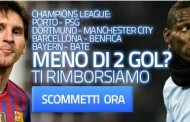 Scommesse Champions League è tempo di power bonus