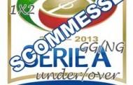 Scommesse serie A 2 giornata 2012-2013