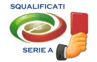 Squalificati serie A terza giornata 2012-2013