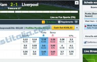 West Ham - Liverpool un altra surebet in Live