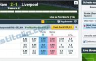 West Ham - Liverpool un altra surebet in Live