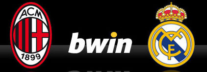 Bwin - Milan Real Madrid