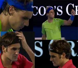Nadal batte Federer
