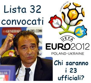 Convocati nazionale Euro 2012