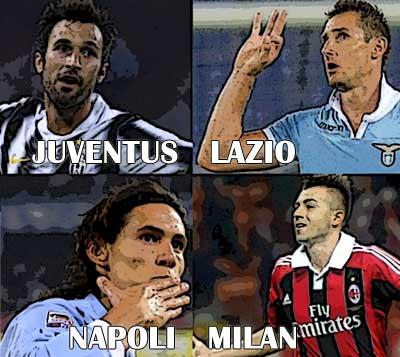 Serie A tredicesima giornata