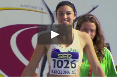 Michelle Jenneke sexy video