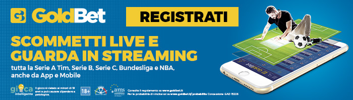 Goldbet streaming serie A