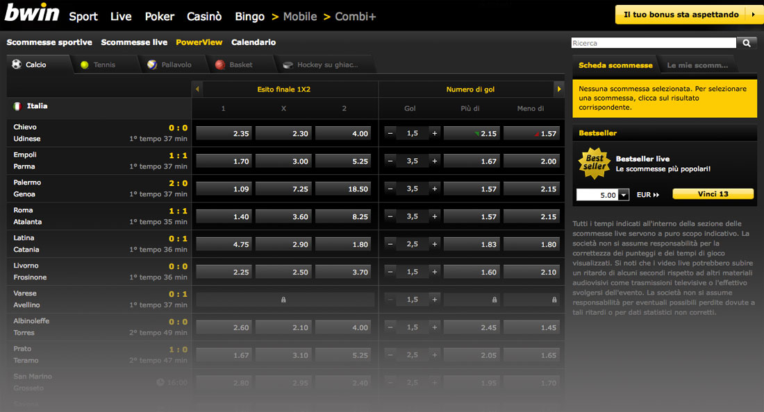 bwin Power View