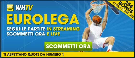 Guarda Eurolega basket gratis