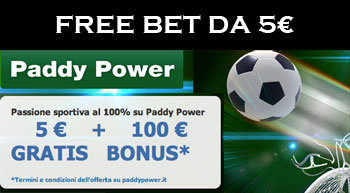 freebet Paddy Power