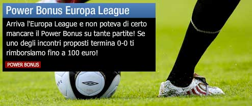 Power Bonus Europa League